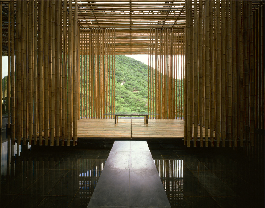 隈研吾 GREAT (BAMBOO) WALL