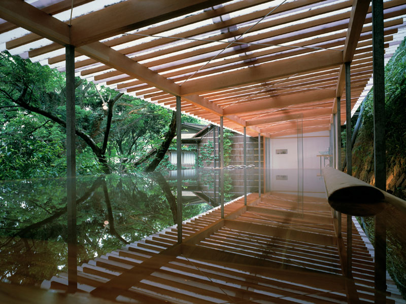 Horai Onsen Bath House Kengo Kuma And Associates