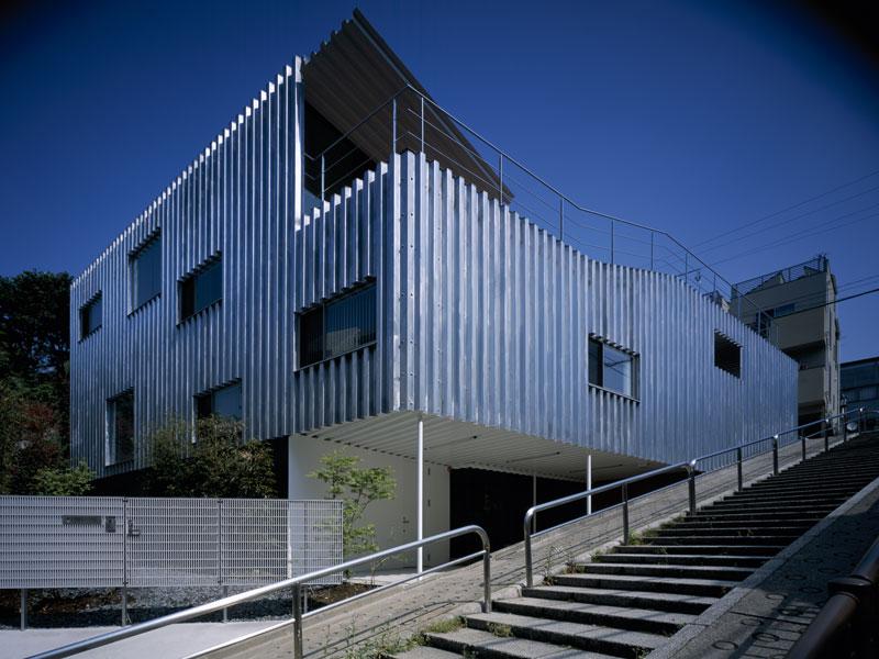 Steel House 「鉃」の家 Architecture Kengo Kuma And Associates