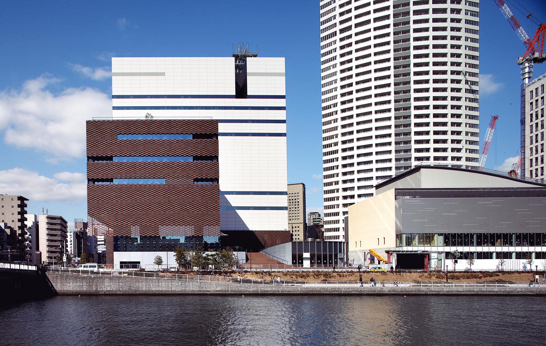 Asahi broadcasting corporation architecture for Architects corporation