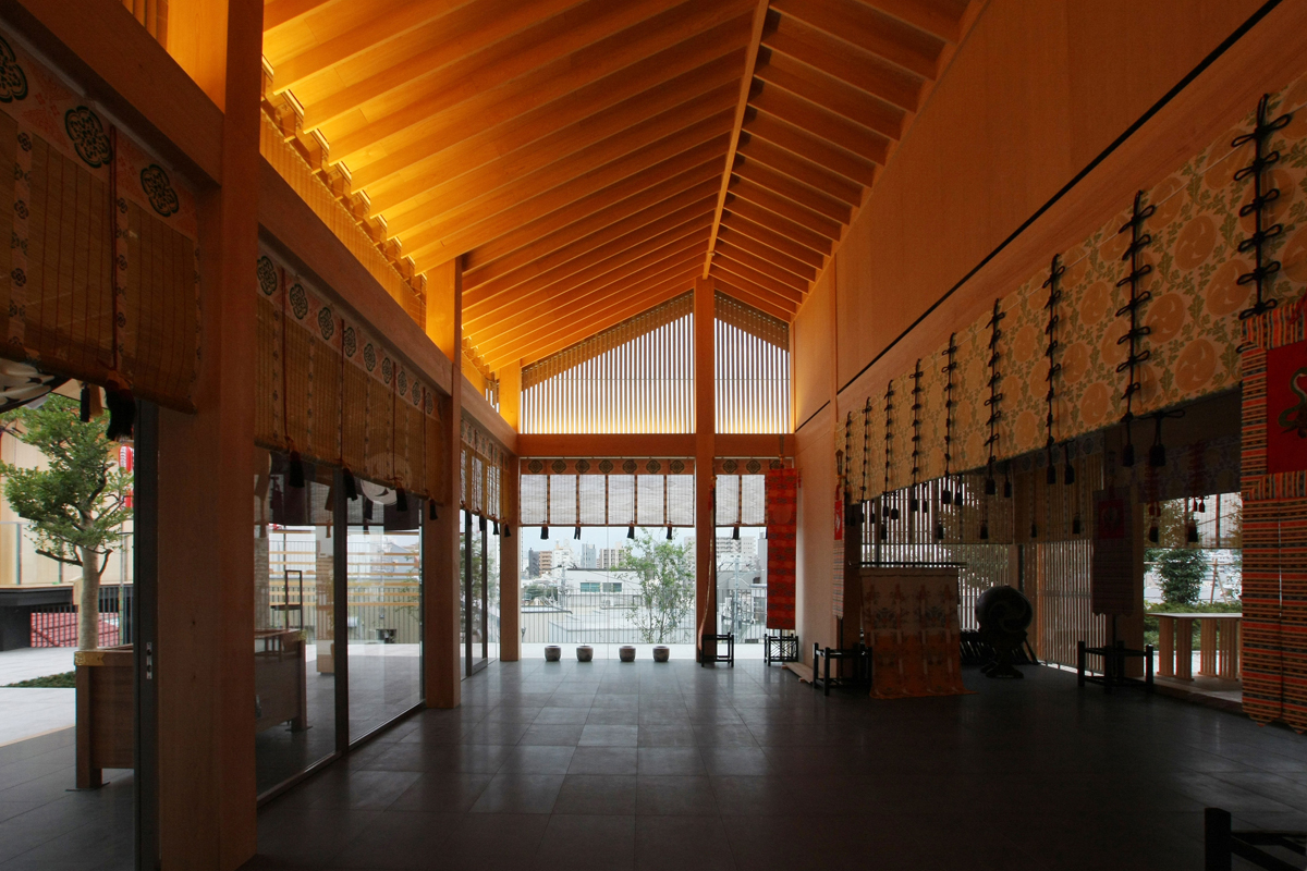 akagi jinja park court kagurazaka 赤城神社 パークコート神楽坂