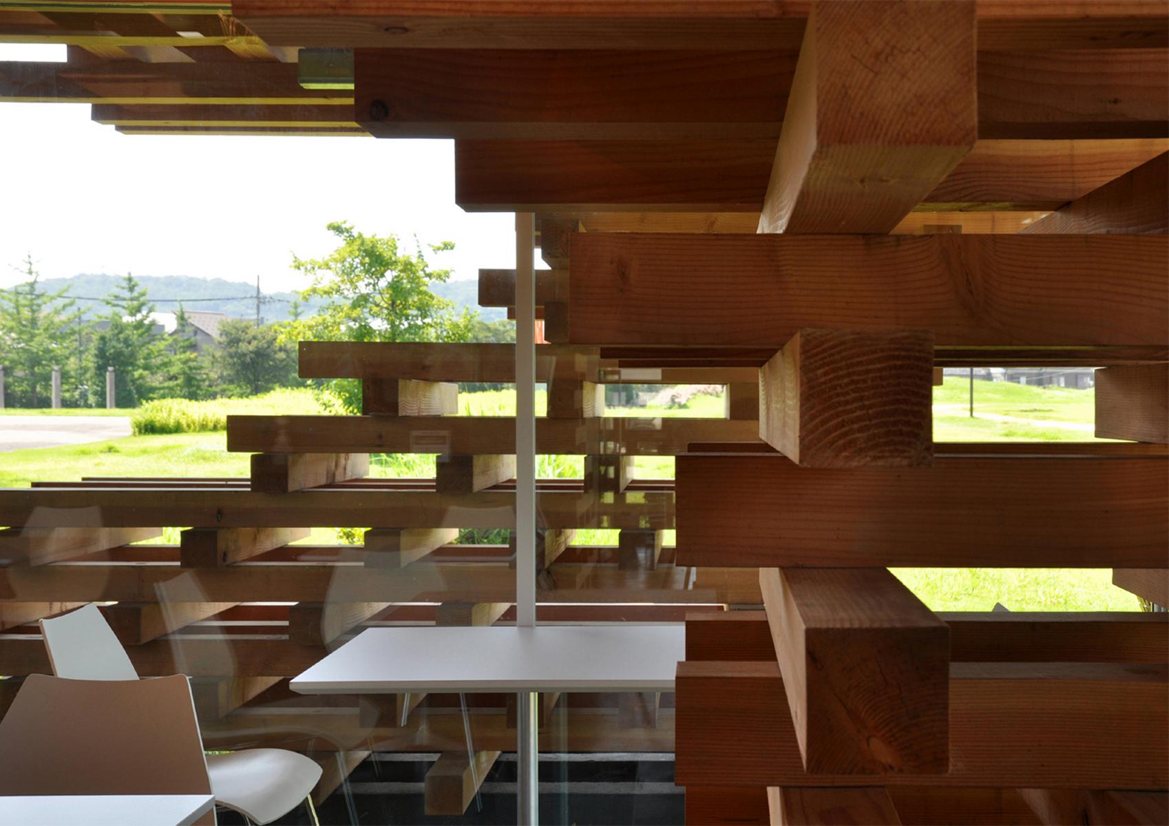 Café kureon — カフェ・クレオン architecture kengo kuma and