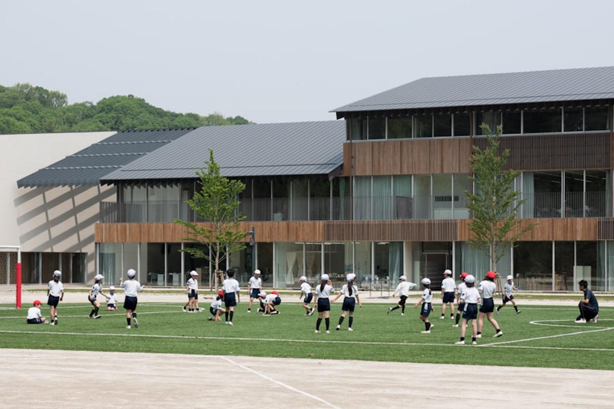 teikyo university elementary school 帝京大学小学校 architecture