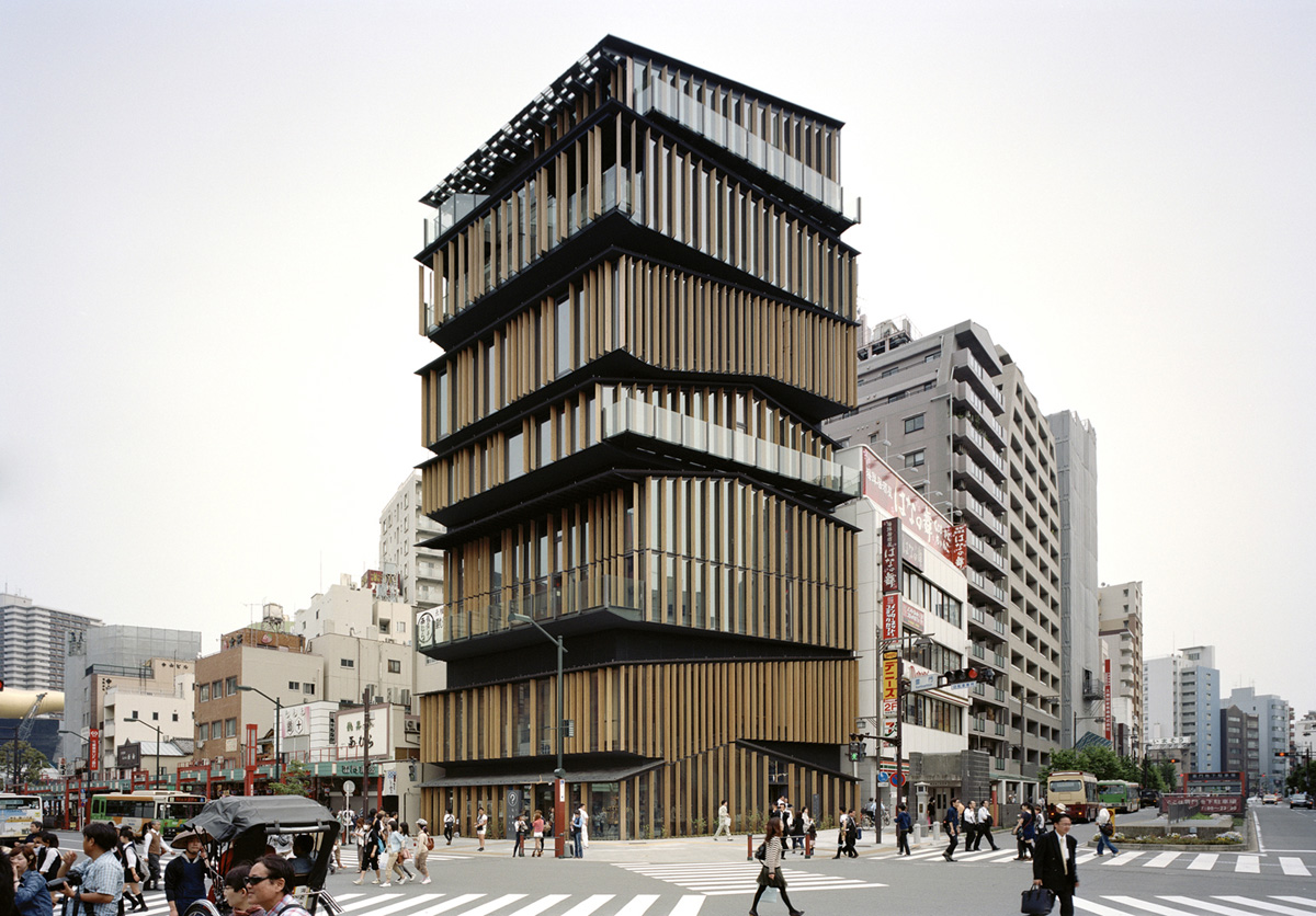 Asakusa culture tourist information center for Architecture agency