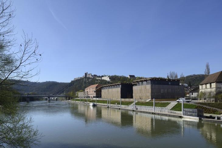 Besançon Art Center and Cité de la Musique ©Nicolas Waltefaugle
