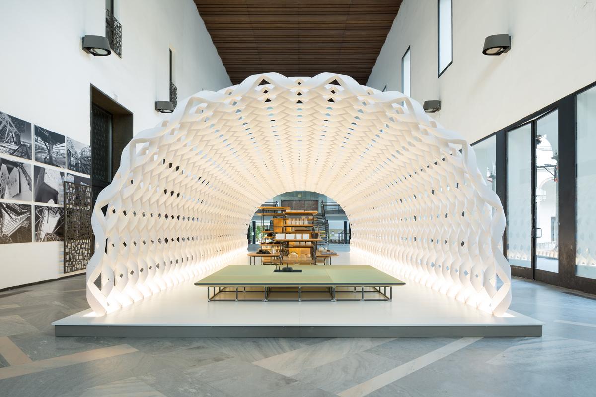 Irori Amp Paper Cocoon Architecture Kengo Kuma And