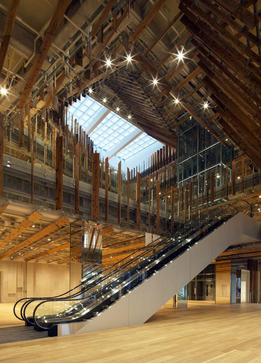 Toyama Kirari Toyama キラリ Architecture Kengo Kuma And