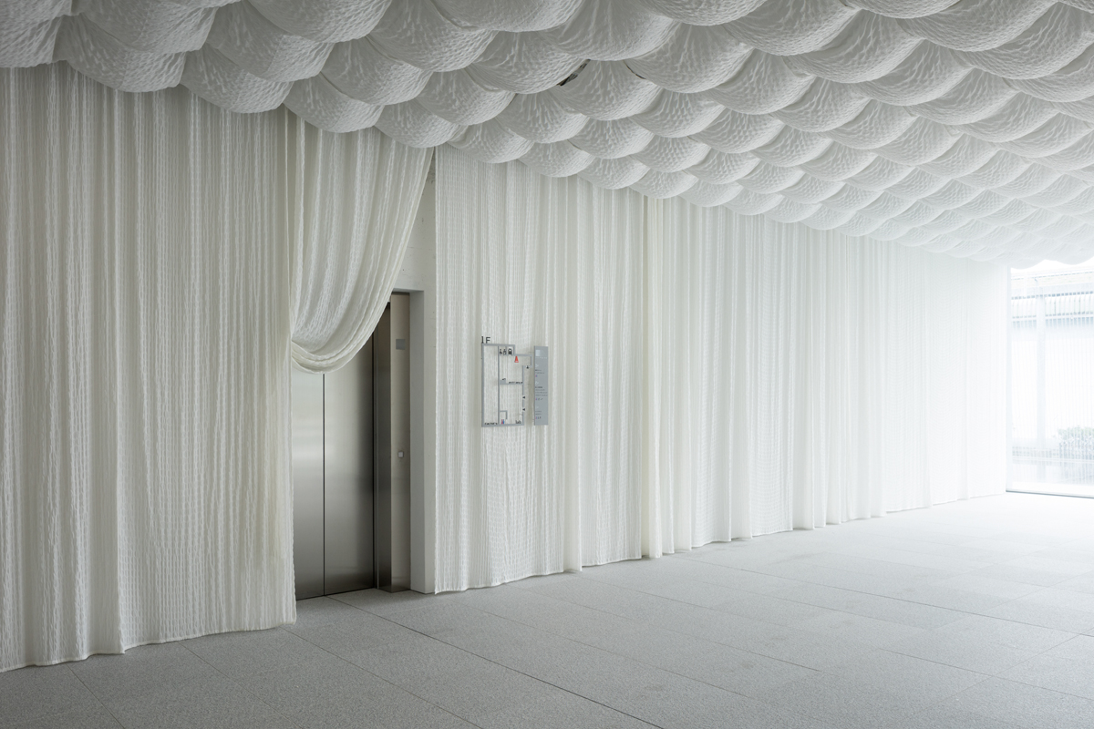 Komatsu seiren fabric laboratory fa bo for Architecture textile