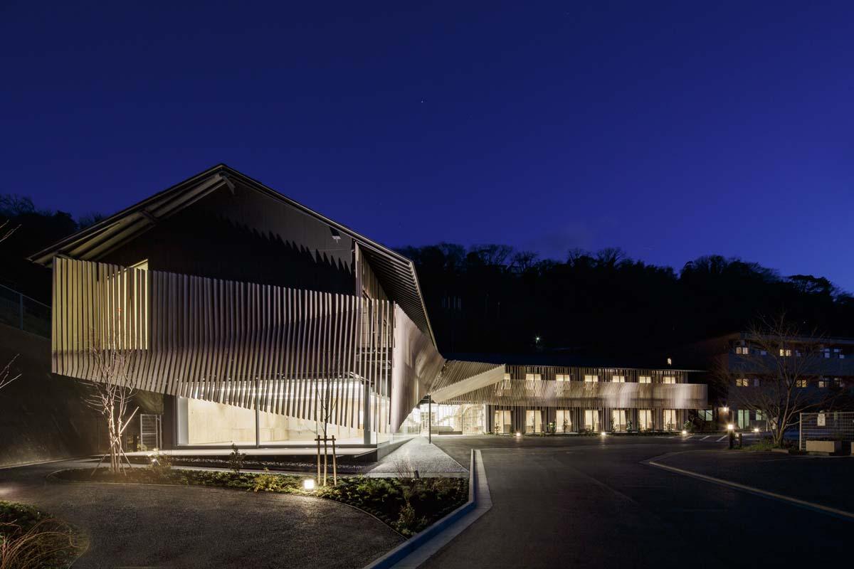 Hayama No Mori Architecture Kengo Kuma And Associates