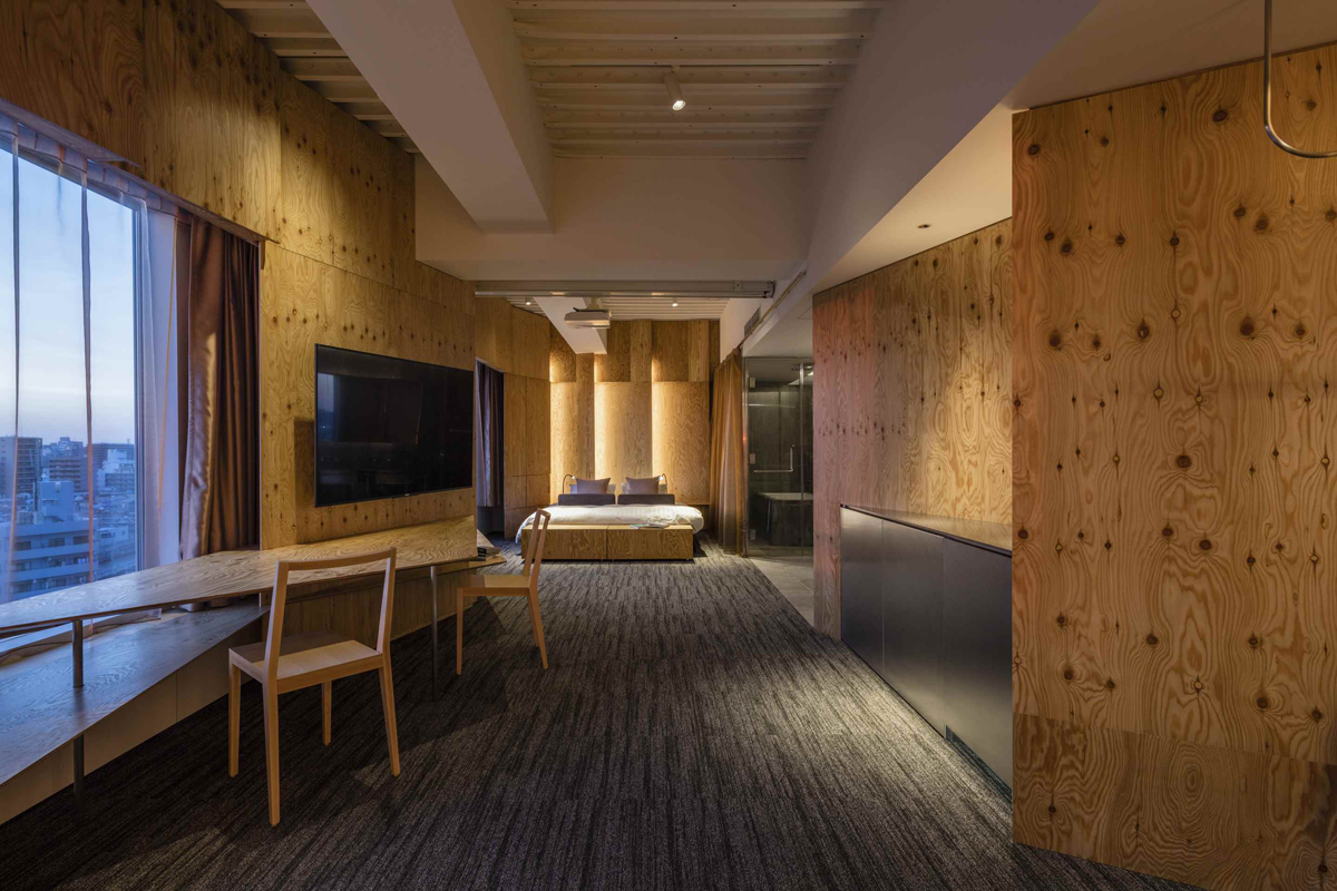 One tokyo architecture kengo kuma and associates for Design hotel tokyo