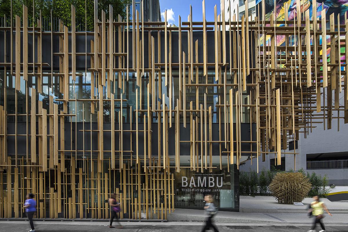 Japan house s o paulo architecture kengo kuma and associates - The narrow house of sao paolo ...