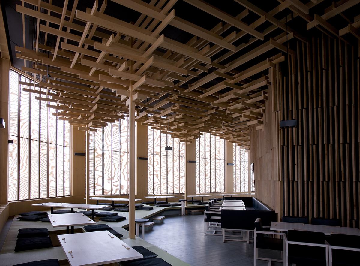 Sake No Hana 酒の花 Sakenohana Architecture Kengo Kuma