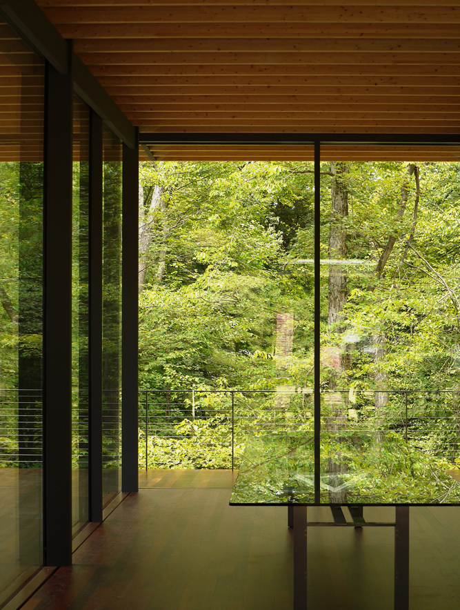 Glass Wood House Architecture Kengo Kuma And Associates