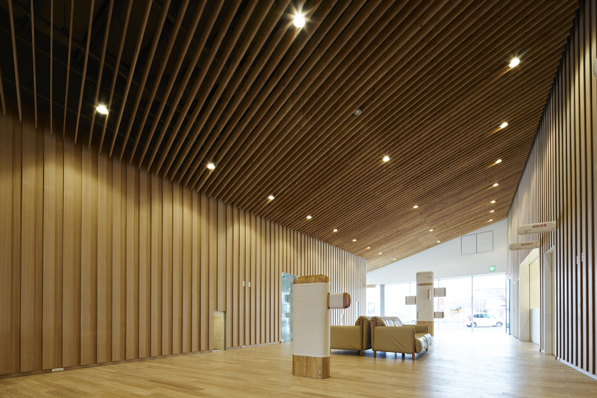 Umeda Hospital 梅田病院 Architecture Kengo Kuma And