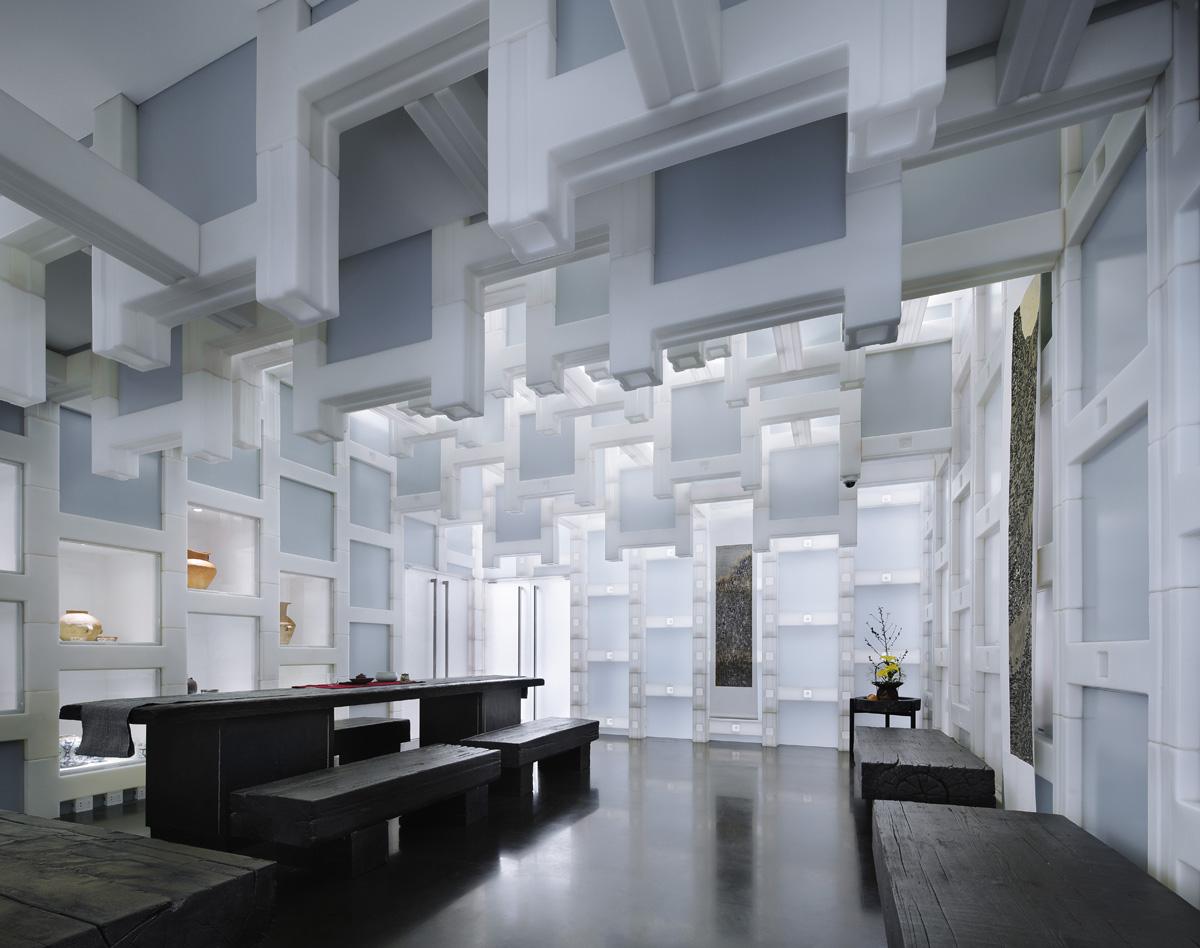 Beijing Tea House Architecture Kengo Kuma And Associates