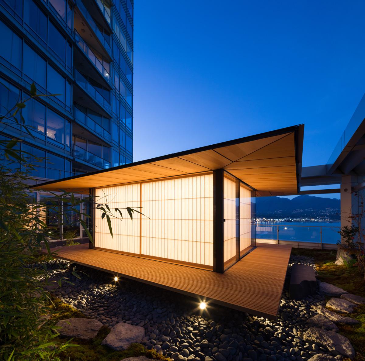 Vancouver Tea House ヴァンクーヴァー茶室 Architecture Kengo